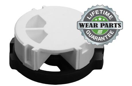 EverGreen Valve Lifetime Guarantee on Wear Parts